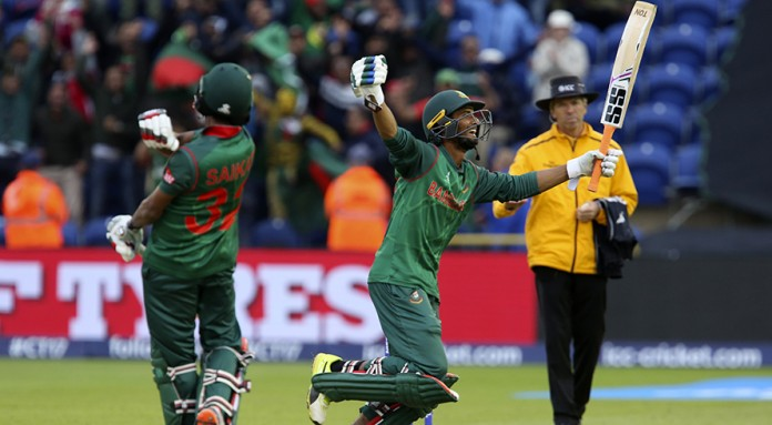 Ton-up Shakib and Mahmudullah stun New Zealand
