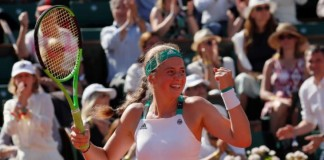 Ostapenko aiming to break through the Halep wall