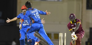 Afghanistan stun West Indies in ODI series opener