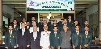 Pakistan Navy is proud of Pakistan cricket team
