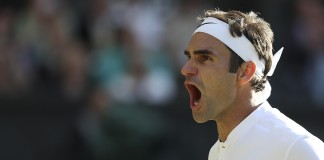 Federer eyes title as Murray, Djokovic exit Wimbledon