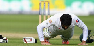 On this day in 2016 - Misbah did famous push-ups at Lord's