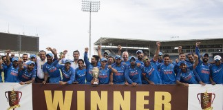 Kohli leads India to series win over West Indies