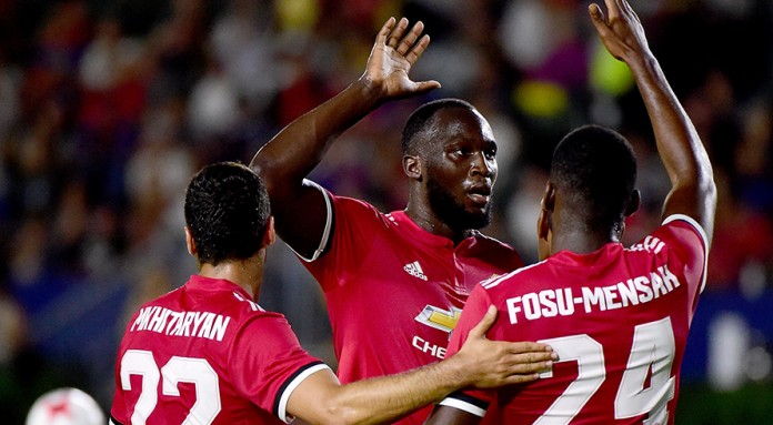 Mourinho pleased as 'top striker' Lukaku opens account