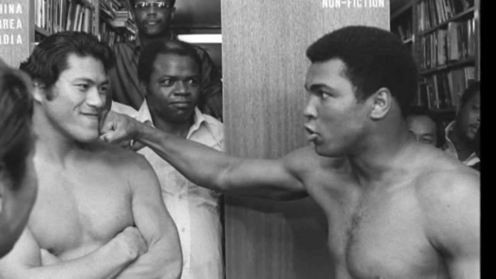 Before Mayweather-McGregor ... Ali v Inoki