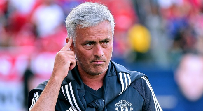 Mourinho treating Manchester derby as training session