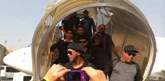 Ronaldinho and Friends arrive in Pakistan