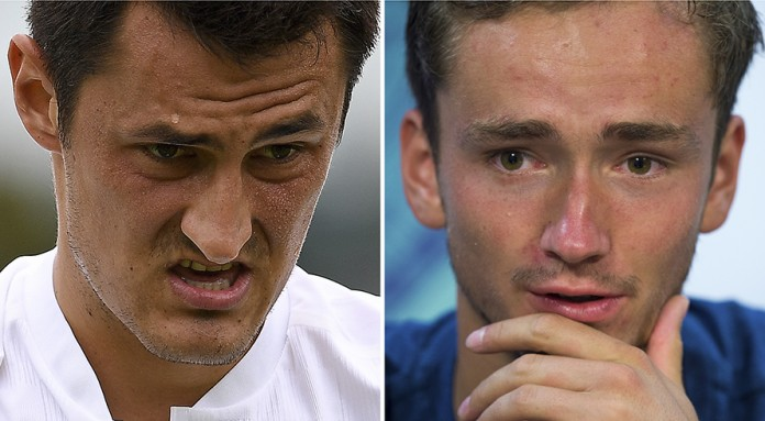 Wimbledon fines for bad boys Tomic, Medvedev