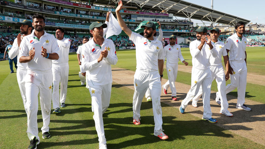 When Pakistan conquered England on their Independence Day