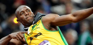Bolt swansong dominates London worlds