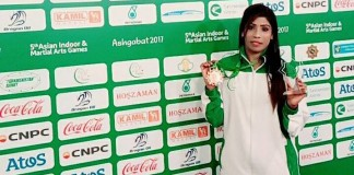 Pakistan female wrestlers