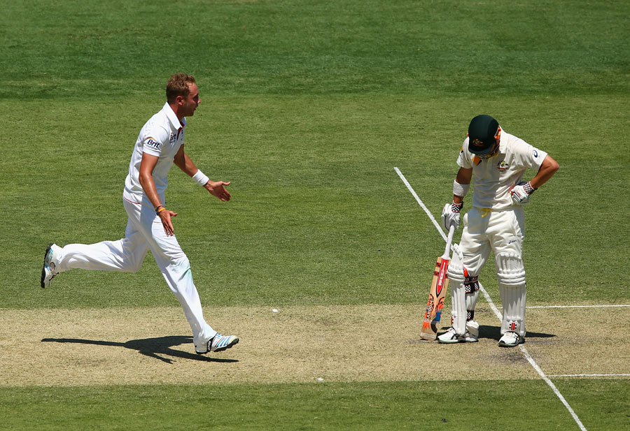 Warner's words of war will motivate England, says Broad