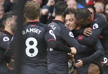 Rooney goal in vain as five-star Arsenal send Everton into drop zone