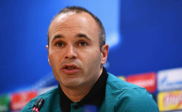 Iniesta Iniesta eyes World Cup finale with Spain