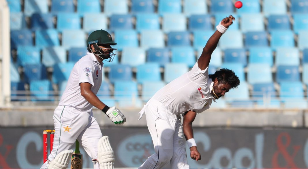 Sami Aslam falls early as Pakistan chase 317 runs