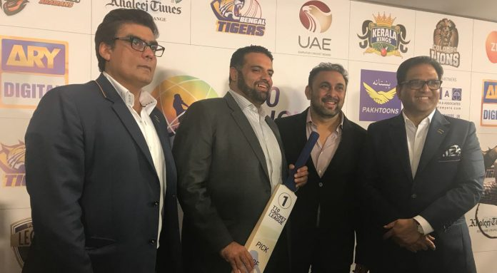 Draft of T10 Cricket League to take place on November 5
