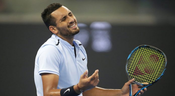Kyrgios fined