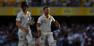 Warner, Bancroft usher Australia to cusp of Ashes Test victory