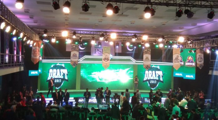 Pakistan Super League 2017 Draft