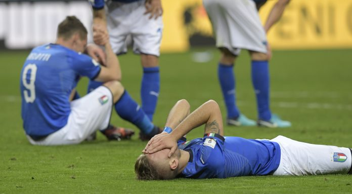 'It's over' - dismay, disbelief as Italy miss World Cup