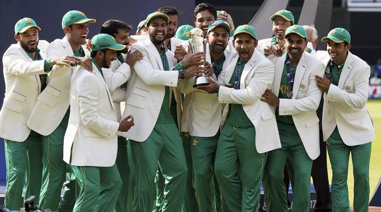 Pakistan post issues commemorative stamp to honour Champions Trophy triumph