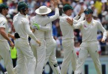England tail collapses after record stand to post 403
