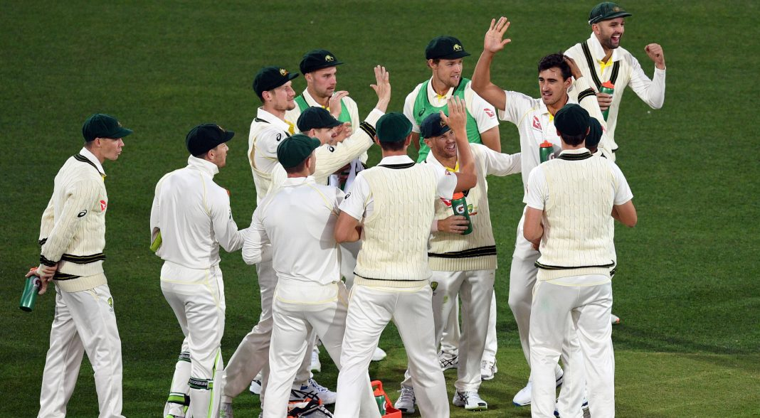 England lose early wicket in chase after big Aussie total