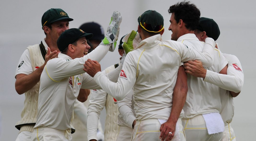 Australia poised to secure Ashes despite rain