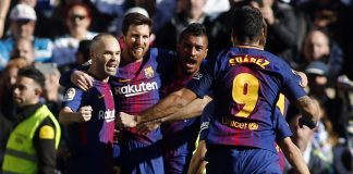 Dominant Barca move 14 points clear of Real Madrid