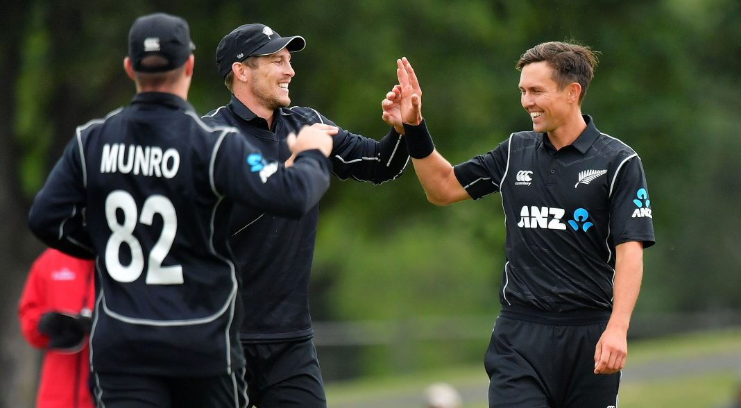 Boult leads New Zealand to Windies series sweep in rain