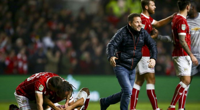 Bristol City dump holders Man Utd out of League Cup