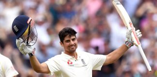 Cook's record double ton puts England in control