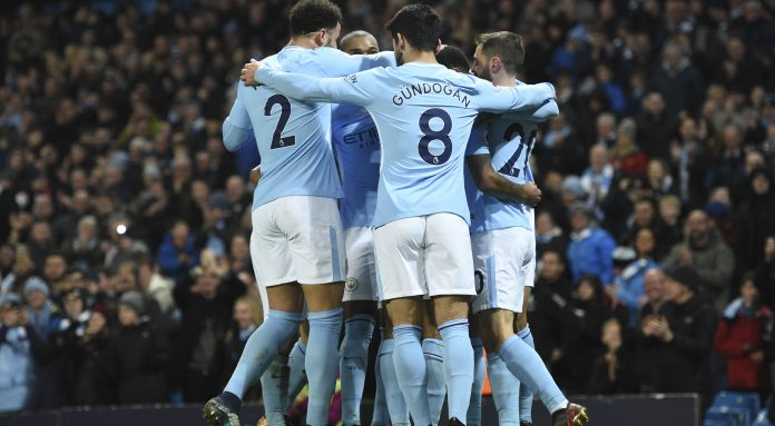 Manchester City claim 17th straight win, United 13 points adrift
