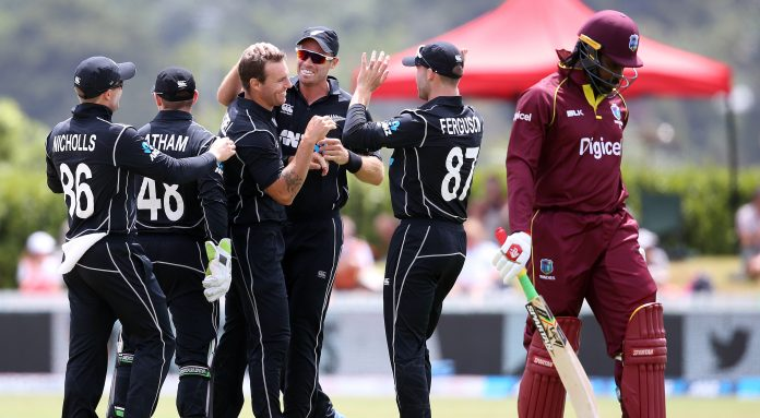 New Zealand beat Windies by five wickets in first ODI