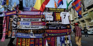 Politically divided Spain united by El Clasico rivalry