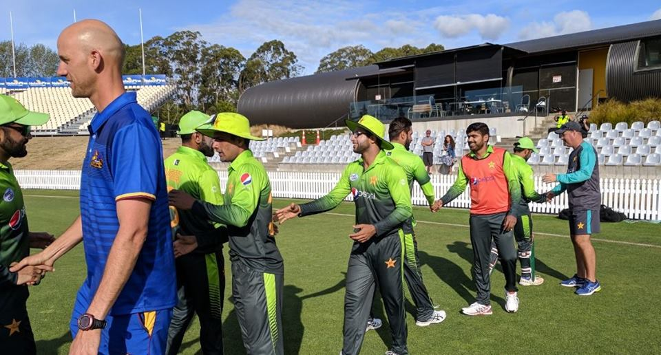 Pakistan start off NZ tour with a convincing win in the practice game