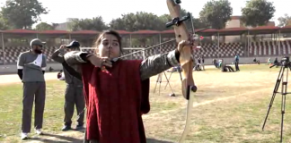 Muskan Afridi aims for top position in National Archery Championship