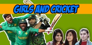 Girls and Cricket