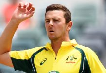 Hazlewood out of ODI, Paine in doubt