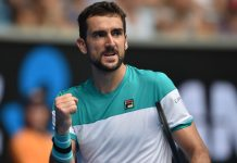 Cilic brings up 100 as he makes Open quarters