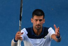 Open furnace 'right on the limit' as Djokovic staggers on