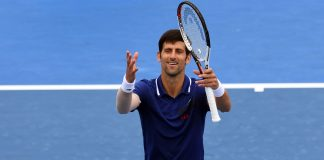 Djokovic 'very, very happy' after first match of year