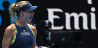 Red hot Kerber in semis as Chung dream goes on