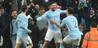 Aguero to the rescue against valiant Bristol City