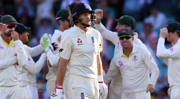 Root falls short of elusive century as Aussies hit back