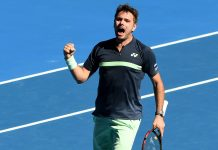 Wawrinka wins first match back after knee surgery