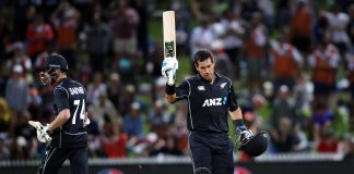 Taylor, Santner heroics get New Zealand home over England