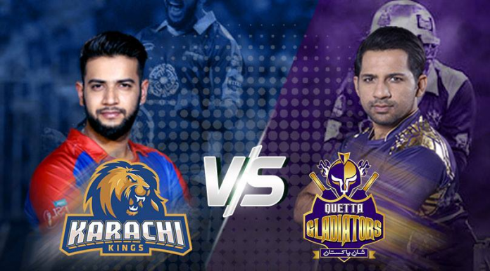 Karachi Kings aim to tame Gladiators in their first PSL contest
