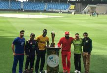 Trophy for PSL 3 unveiled in Dubai by team captains