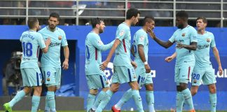 Barcelona grind out victory in Eibar before Chelsea trip